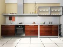Kitchen set Royalty Free Stock Photo