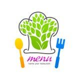 Kitchen set of business logo icon Royalty Free Stock Photos