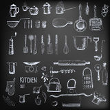 Kitchen set Royalty Free Stock Image
