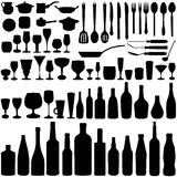 Kitchen set vector Stock Photos