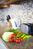 Kitchen setup royalty free stock image