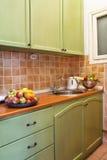 Kitchen setup stock photography