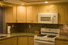 Kitchen Shot Stock Photography