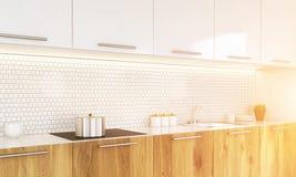 Kitchen sideview toning Stock Photo