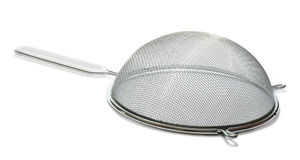 Kitchen sieve Stock Image