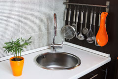 The kitchen sink Royalty Free Stock Photo
