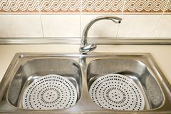 Kitchen sink Royalty Free Stock Photography