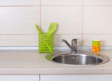 Kitchen sink Stock Photo