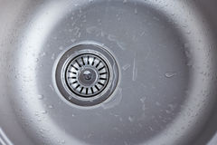 Kitchen sink close up Royalty Free Stock Photography