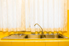 Kitchen sink Stock Images