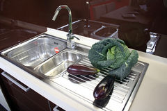 Kitchen sinks Royalty Free Stock Photos