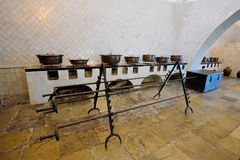 Kitchen  in Sintra National Palace, Portugal Stock Photography