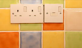 Kitchen sockets Stock Photo