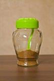 Kitchen spice jar Royalty Free Stock Photo