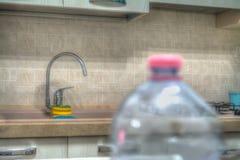 Kitchen spigot Royalty Free Stock Images