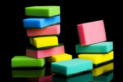 Kitchen sponge Royalty Free Stock Photos