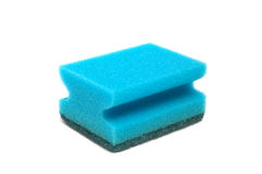 Kitchen sponge Royalty Free Stock Images