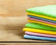 Kitchen sponge close up Stock Photo