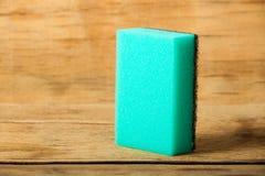 Kitchen sponge close up Stock Image