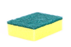 Kitchen Sponge for dish cleaning Royalty Free Stock Photography