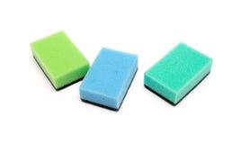 A kitchen sponge Royalty Free Stock Image