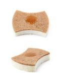 Kitchen sponge isolated stock images