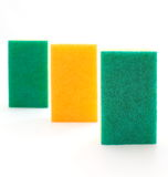 Kitchen sponge Royalty Free Stock Photography