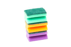 Kitchen sponge stock image