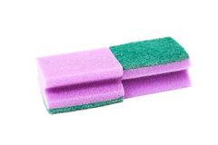 Kitchen sponge royalty free stock image