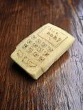 Kitchen sponge transformed into cellphone Stock Photo