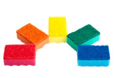 Kitchen sponges. Royalty Free Stock Photography