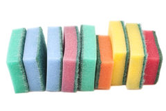 Kitchen sponges Royalty Free Stock Image