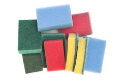 Kitchen sponges Royalty Free Stock Photography