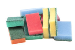 Kitchen sponges Stock Photography