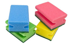 Kitchen sponges Royalty Free Stock Photo