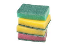 Kitchen sponges Stock Photos