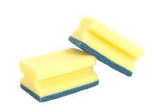 Kitchen sponges Royalty Free Stock Photos