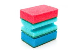 Kitchen sponges Royalty Free Stock Images