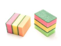 Kitchen sponges Stock Photo