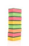 Kitchen sponges Royalty Free Stock Image