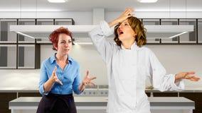 Kitchen Staff Royalty Free Stock Photo