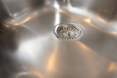 Kitchen Stainless Steel Sink Bowl Royalty Free Stock Images