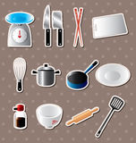 Kitchen stickers Royalty Free Stock Photos