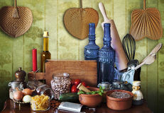 Kitchen still life Royalty Free Stock Image