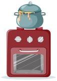 Kitchen stove Stock Image