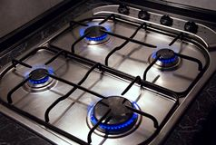 Kitchen stove Royalty Free Stock Photos