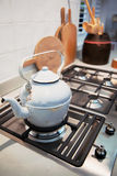 Kitchen stove Royalty Free Stock Images