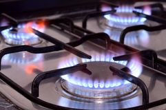 Kitchen stove Stock Photos