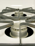 Kitchen Stove. VIew of a kitchen stove (top stock photography