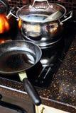 Kitchen stove Stock Photos